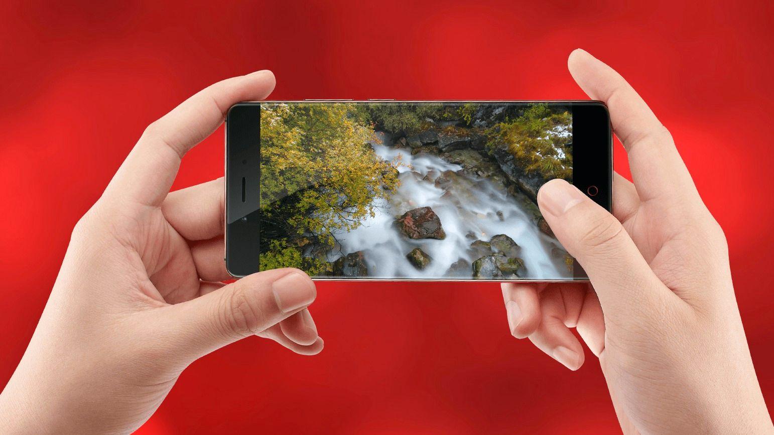 Dette er ZTEs nye «rammeløse» mobiltelefon