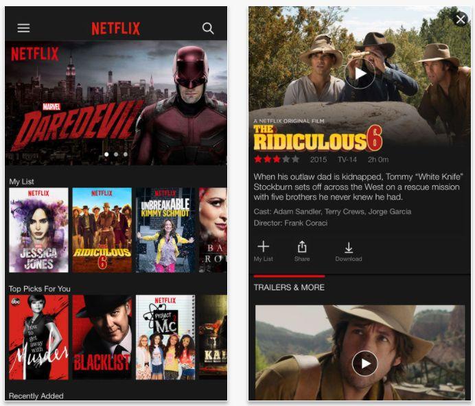Netflix har fått HDR-støtte på Apples nye mobiler.