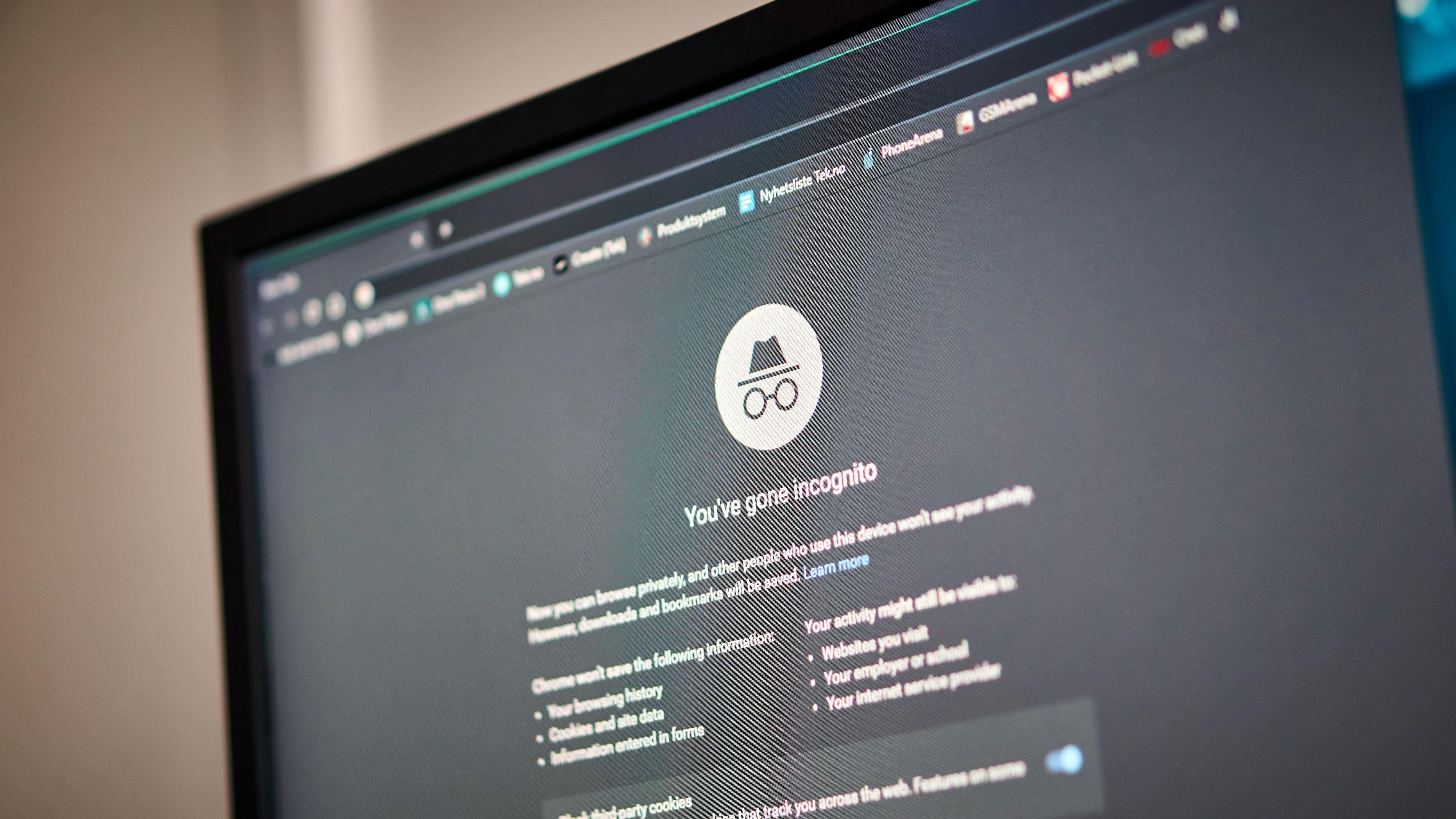 Bruker du inkognito i Chrome?