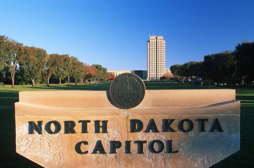 Det var i delstatshuset i Nord-Dakota den nye loven ble vedtatt. Foto: Joseph Sohm/Shutterstock.com