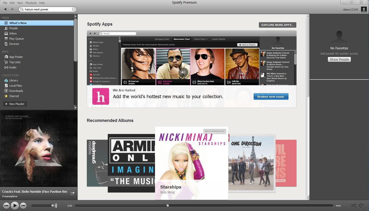 Med tjenester som Spotify er musikken bare ett klikk unna.