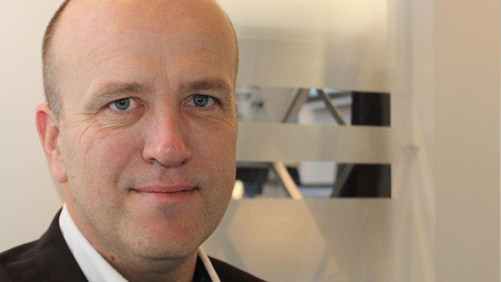 Salgssjef i MeaWallet, Ove Teigen, kan fortelle om lange dager med fulle møtebøker under Mobile World Congress. Han synes det er gøy når store internasjonale banker står i kø for å lære om produktet deres.