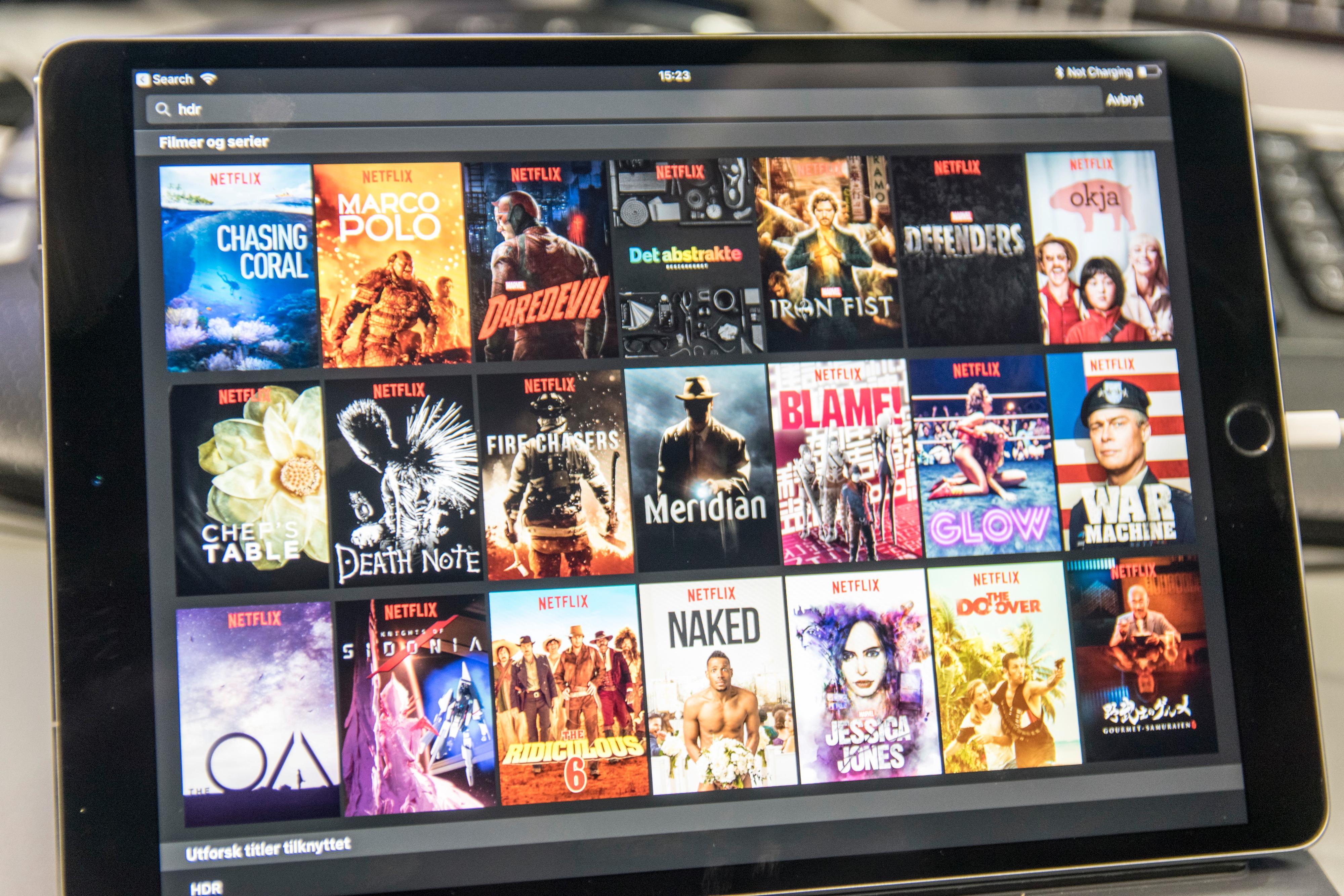 Med nytt HDR-innhold både i Apples butikk og i Netflix er støtten i nye iOS 11 kjærkommen for iPad Pro (2017)-brukere.
