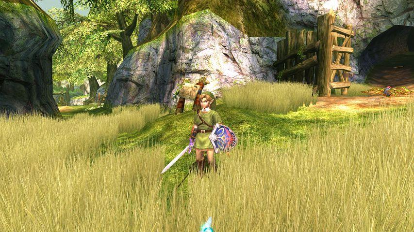The Legend of Zelda Twillight Prinsess ser ut som et nytt spill på Dolphin-emulatoren. Her i full sving med full-HD og kantutjevning.Foto: Nintendo