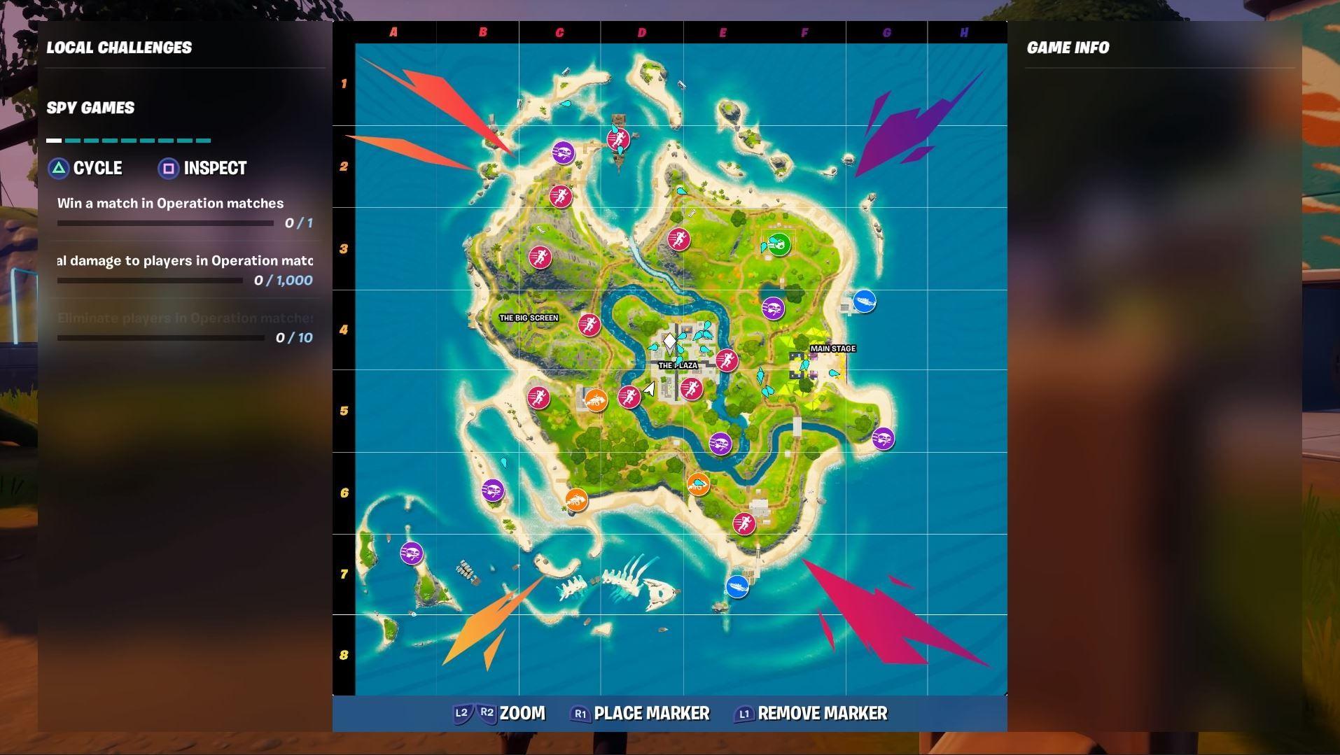 Slik ser det nye kartet i Party-modusen ut.