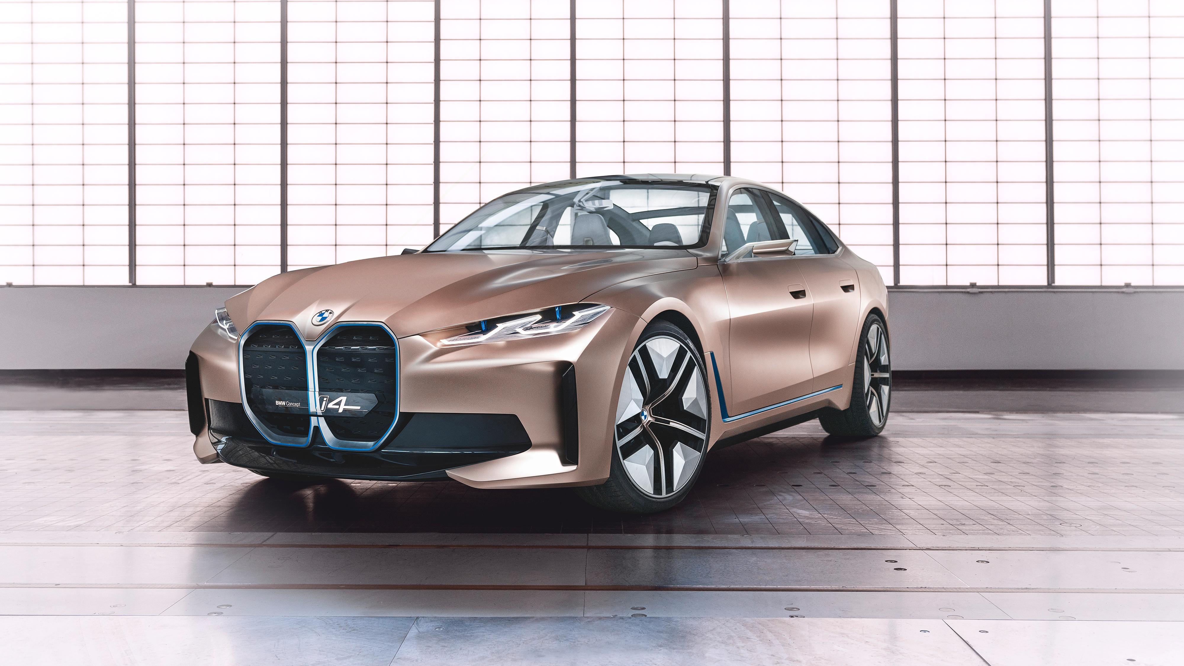 BMW slipper konseptversjon av kommende i4