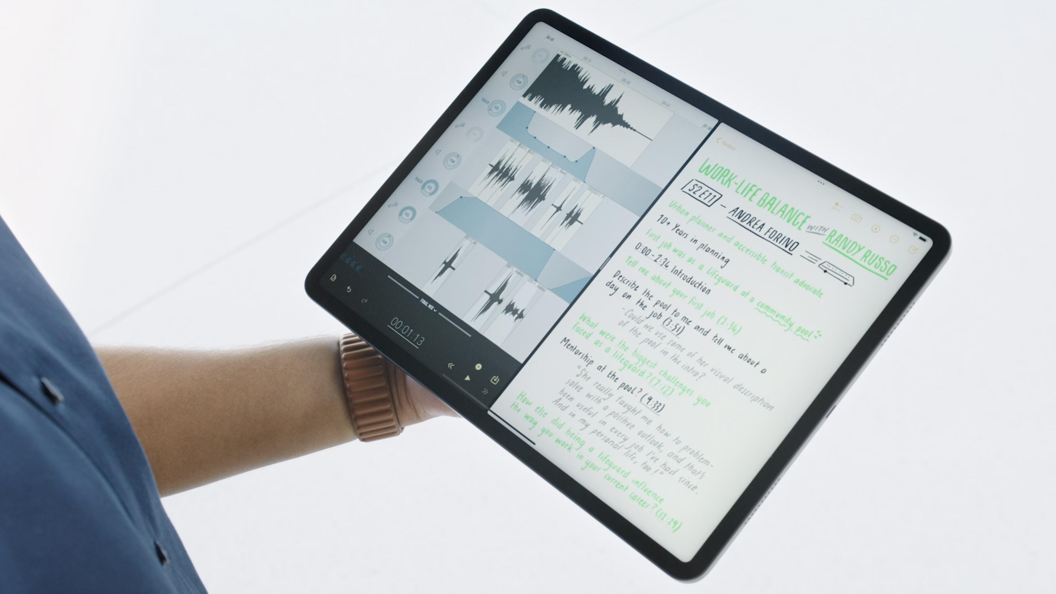 Delt skjerm på iPad skal kunne gjøre det enklere å jobbe med flere ting samtidig.