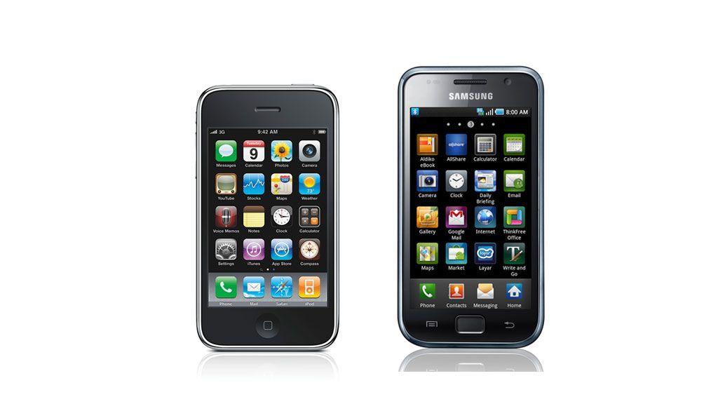 Synes du Samsung Galaxy S ligner iPhone 3GS? Kommenter i forumet nederst på siden.