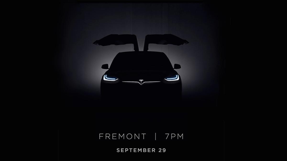 Tesla Model X lanseres neste uke