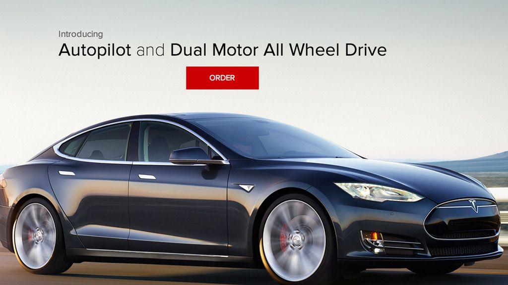 Nye Tesla-modeller får dobbel motor og autopilot
