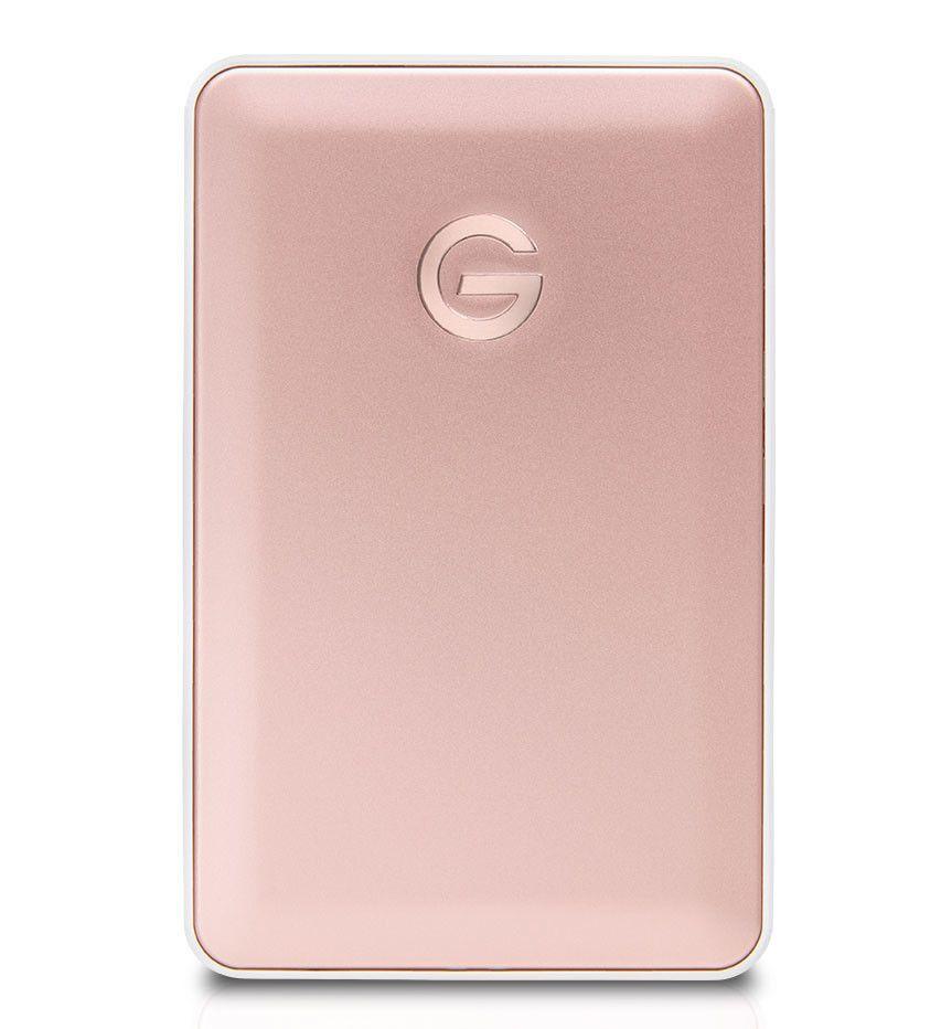 G-Technology G-Drive mobile USB-C kommer nå i rosegull.