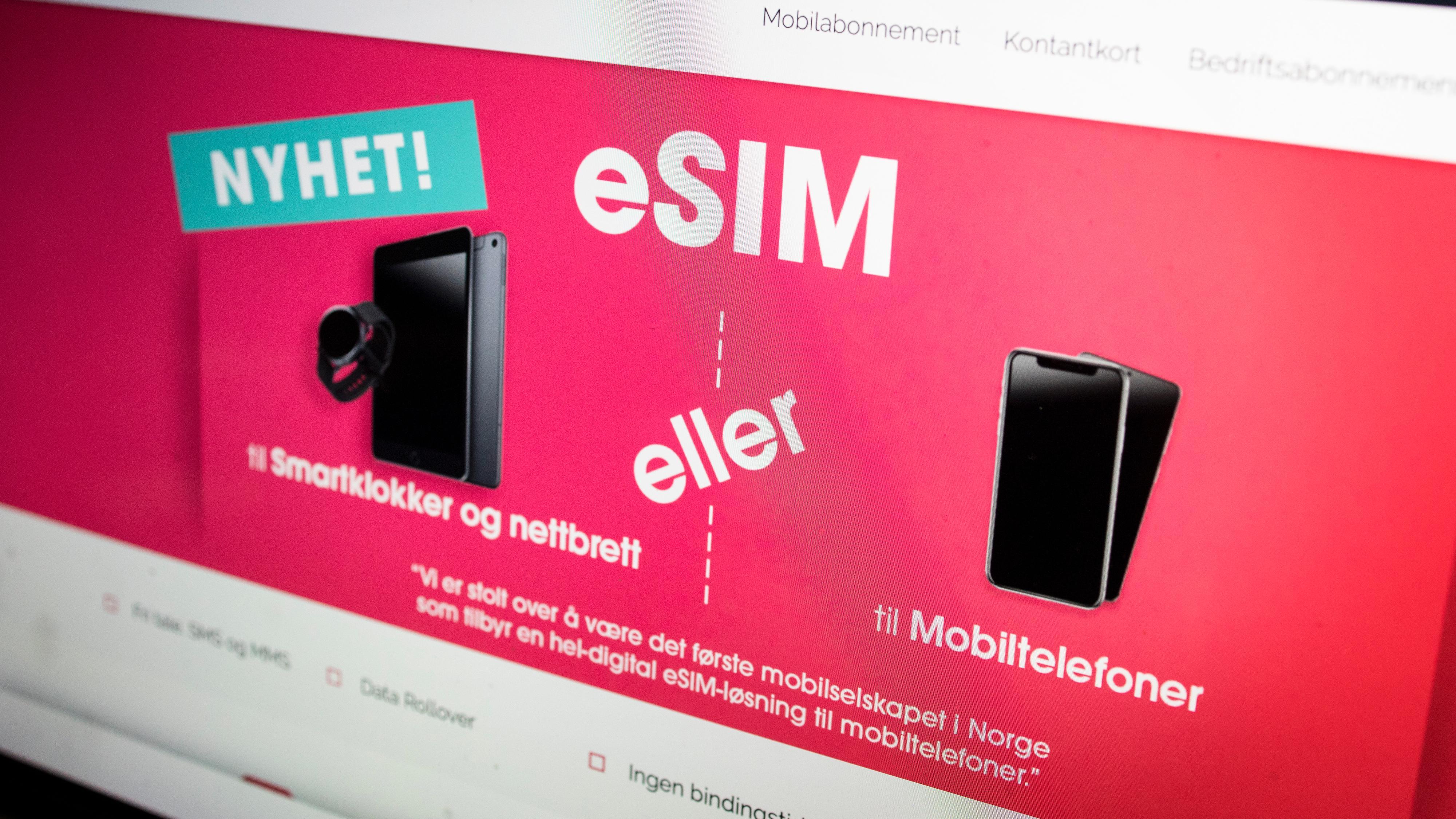 Chilimobil lanserer eSIM – lar deg ta i bruk nytt abonnement på 10 minutter