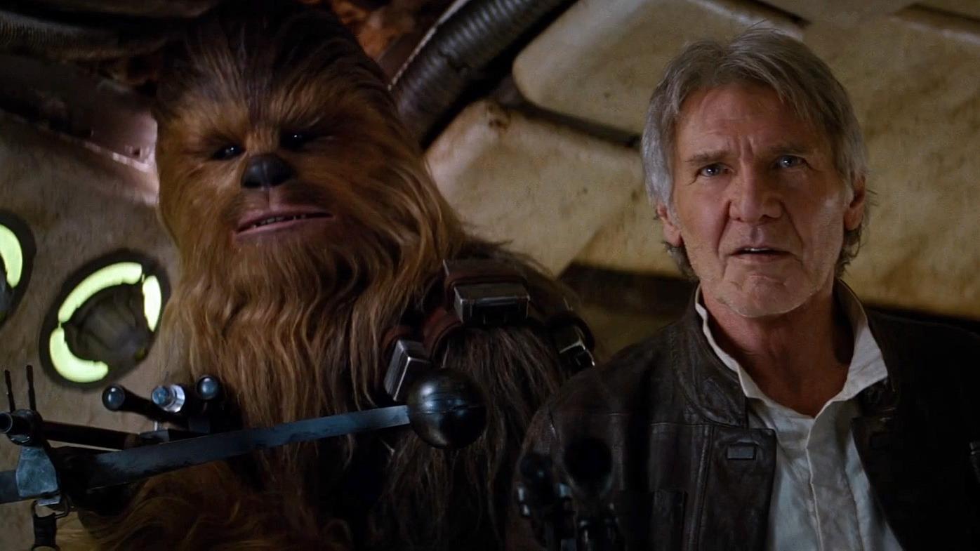 Han Solo er tilbake i den nye Star Wars-traileren