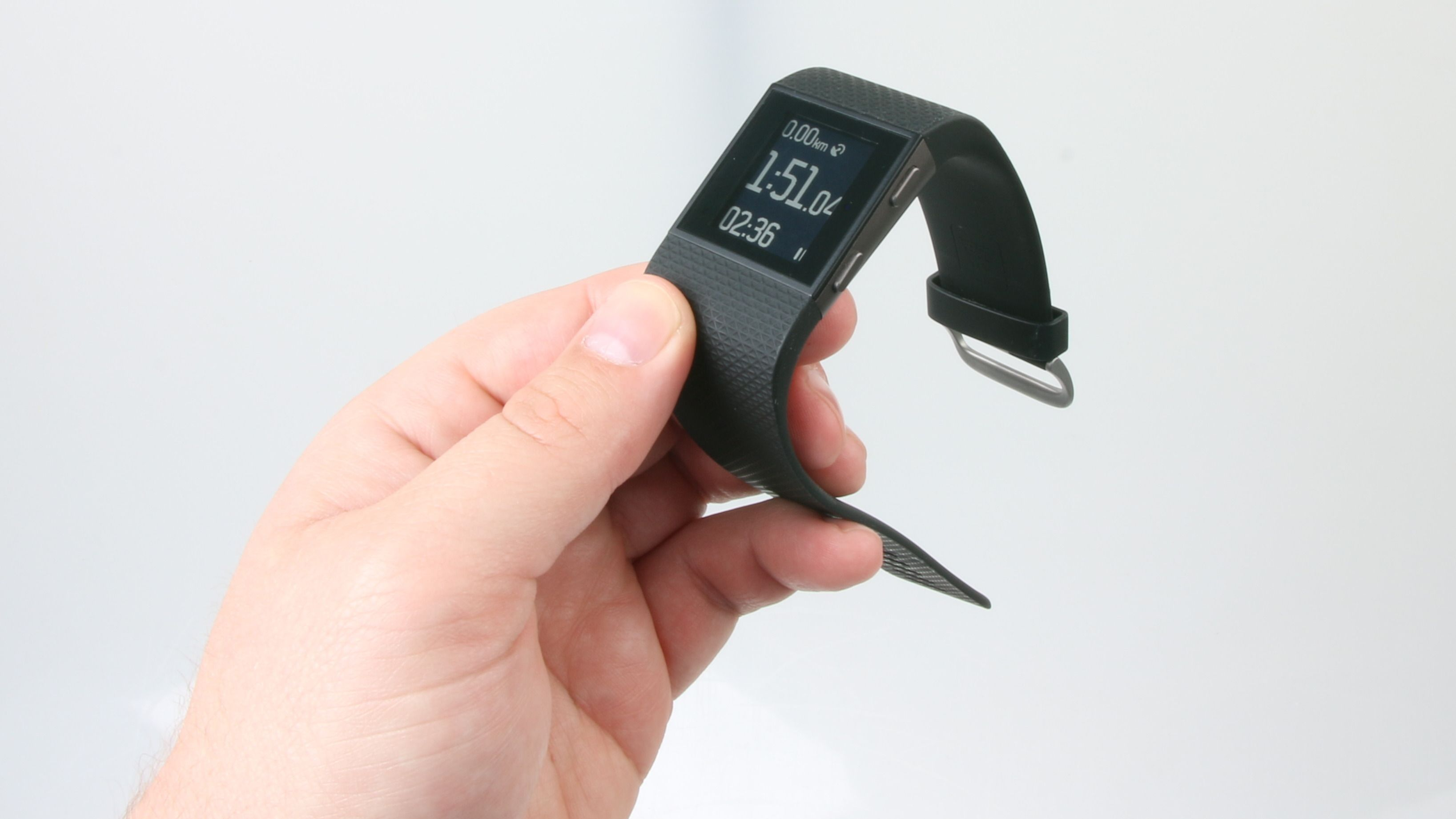 Fitbit Surge er enkel å bruke. Foto: Ole Henrik Johansen / Tek.no
