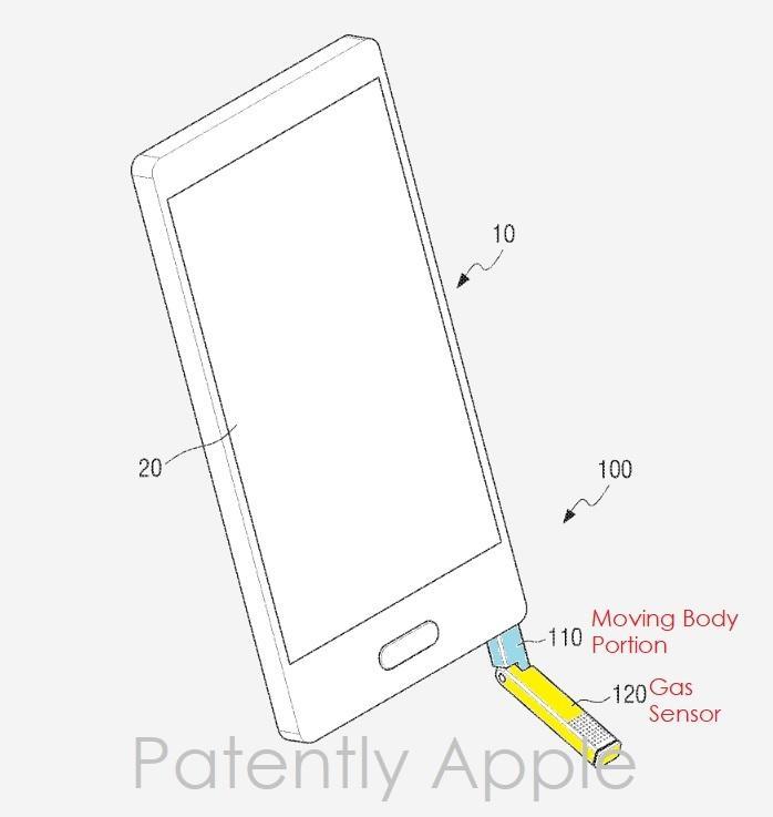 Illustrasjonsbilde fra patentdokumentet..