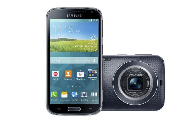 Samsung Galaxy K Zoom.