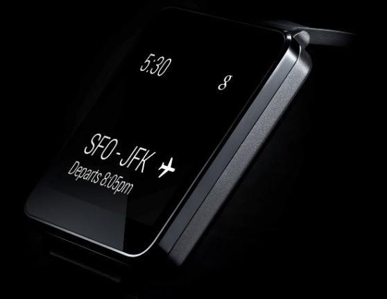 LGs klokke ser ut til å følge trenden, men implementere nye Android Wear.Foto: LG