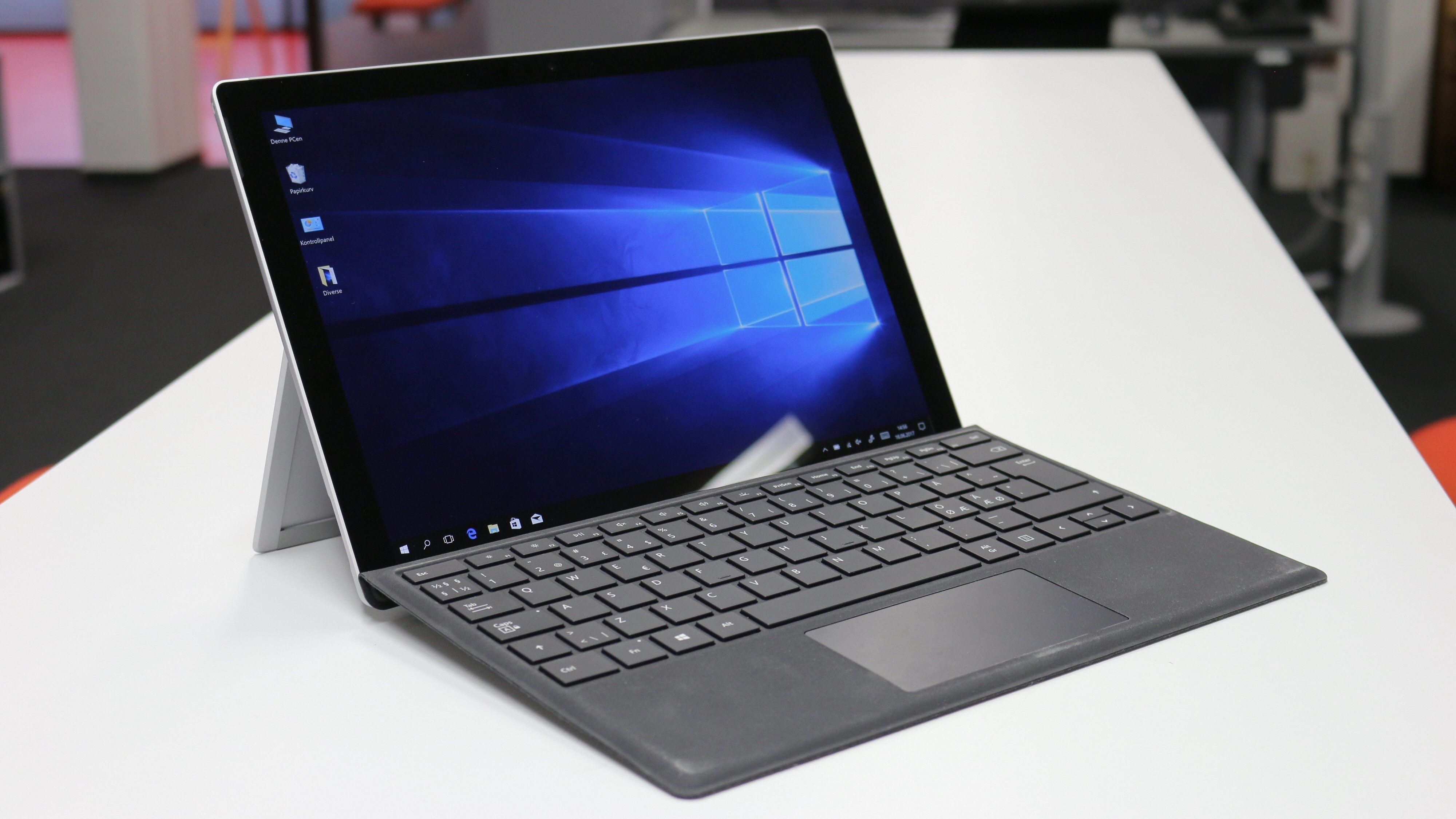 Nye Microsoft Surface Pro (5. gen.)