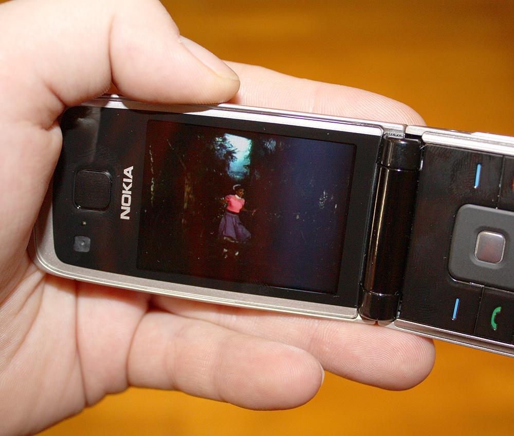 Nokia 6600 Fold er et eksempel på en telefon som spiller video i 3GP-format.