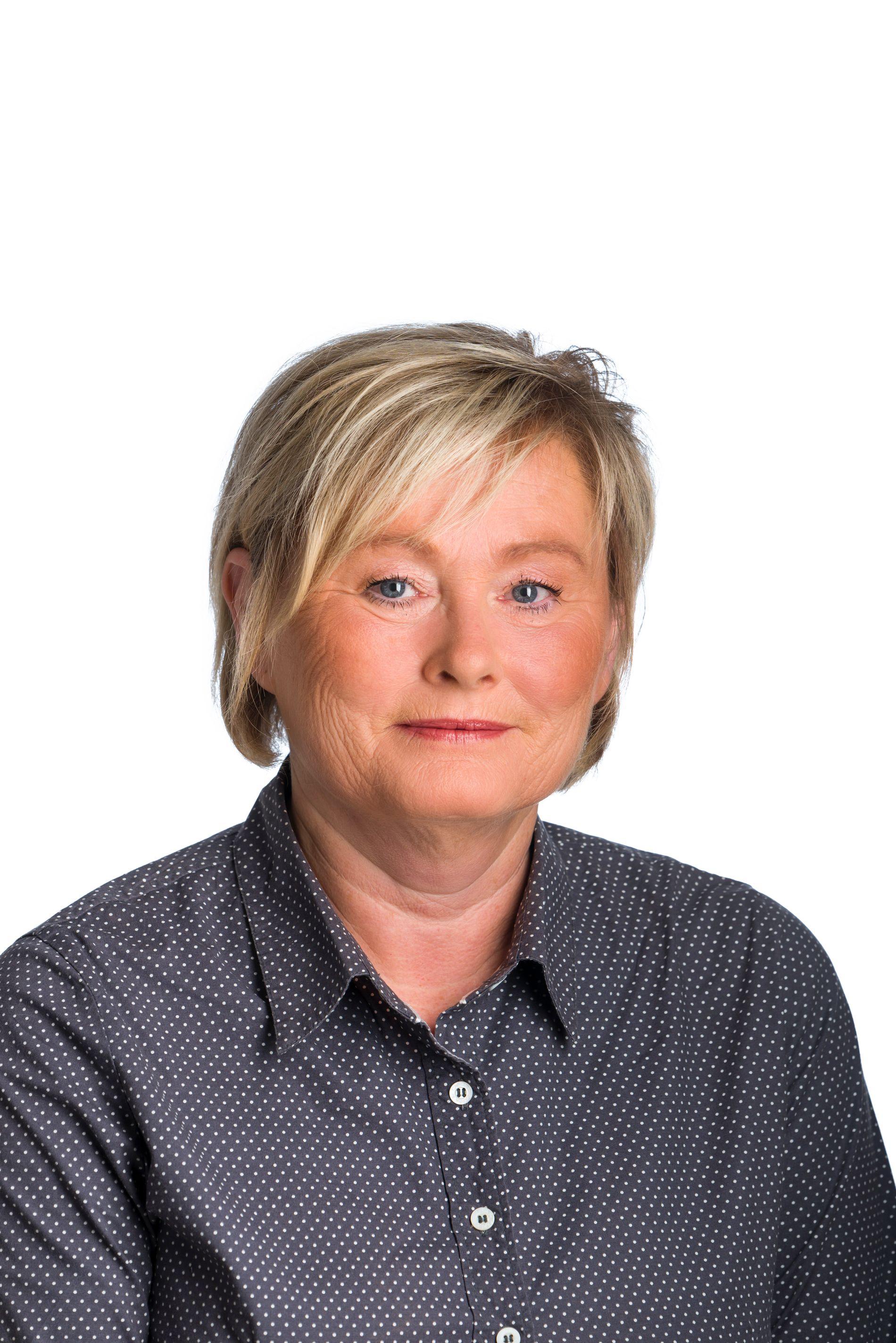 Bjørg Jortveit, Banking Director of Sparebanken Sør in Lillesand.