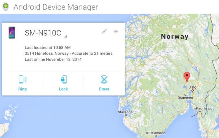 Google har verktøyet du trenger for å finne igjen Android-enheten om den er kommet bort. Du kan zoome deg inn i kartet og se nøyaktig hvor brettet ditt er, eller i alle fall hvor det sist hadde kontakt med Internett. Du kan også låse eller slette brettet. Da blir det ubrukelig for andre straks det kobles til Internett.