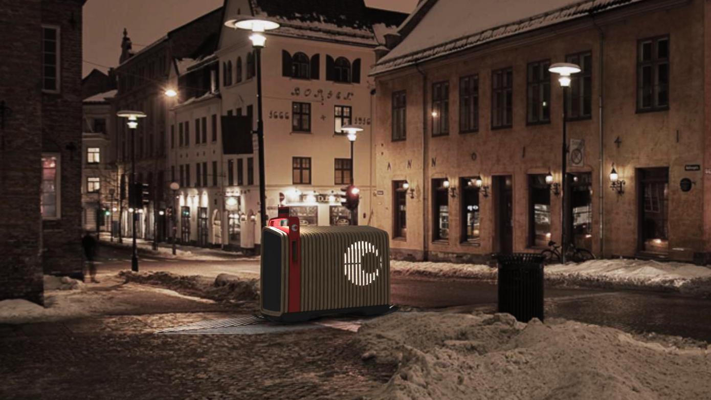 Her er roboten Posten ser for seg at kan erstatte postkassen din