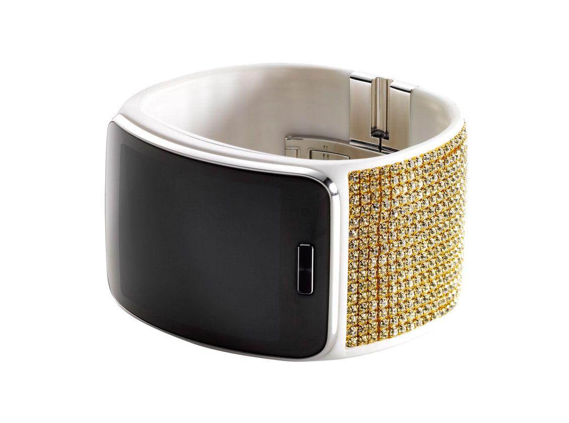 Swarovski-versjonen vil garantert appellere til damer som liker bling.