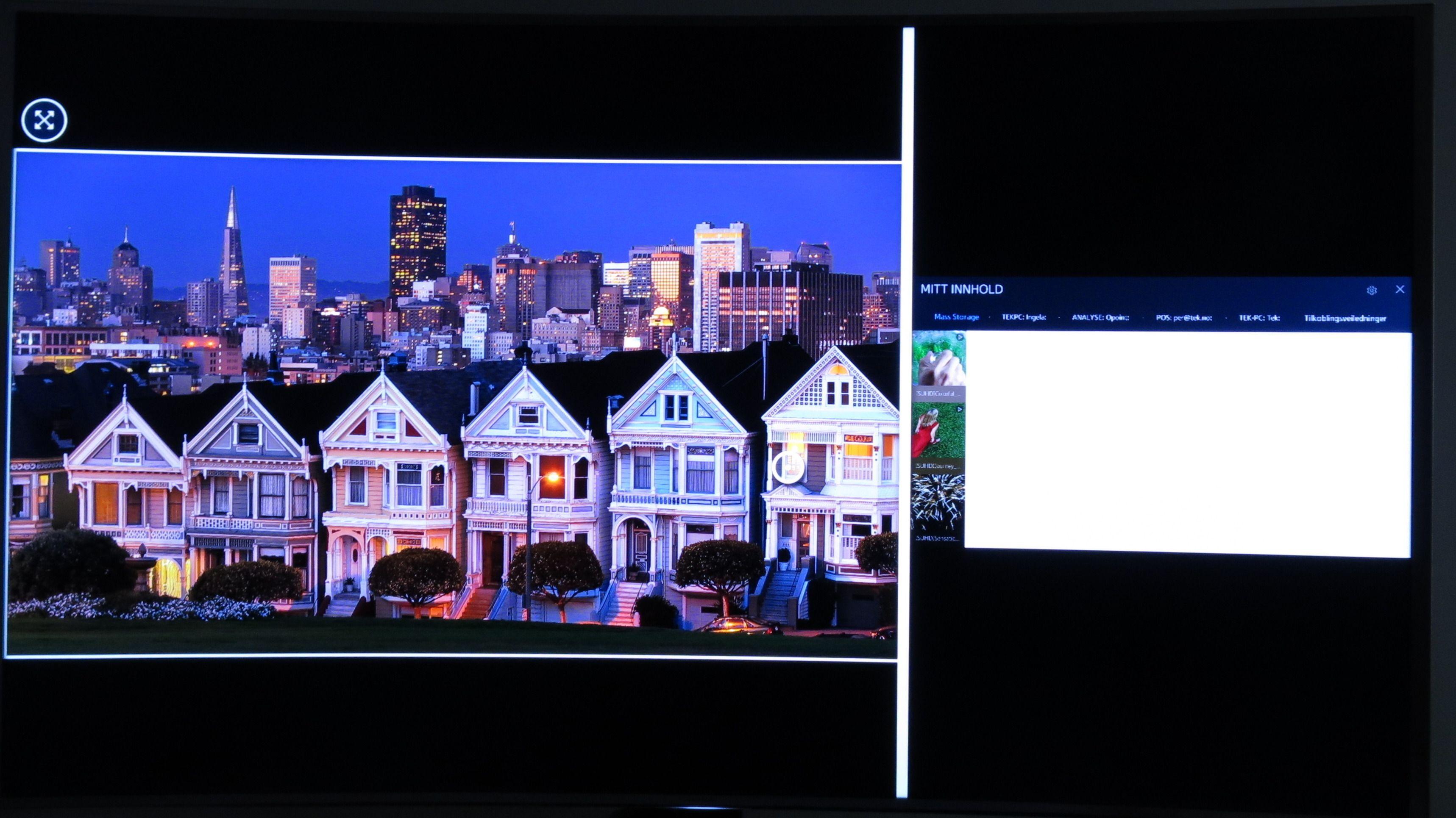 Nå kan du selv bestemme størrelsene på vinduene på delt skjerm. Foto: Ole Henrik Johansen / Tek.no
