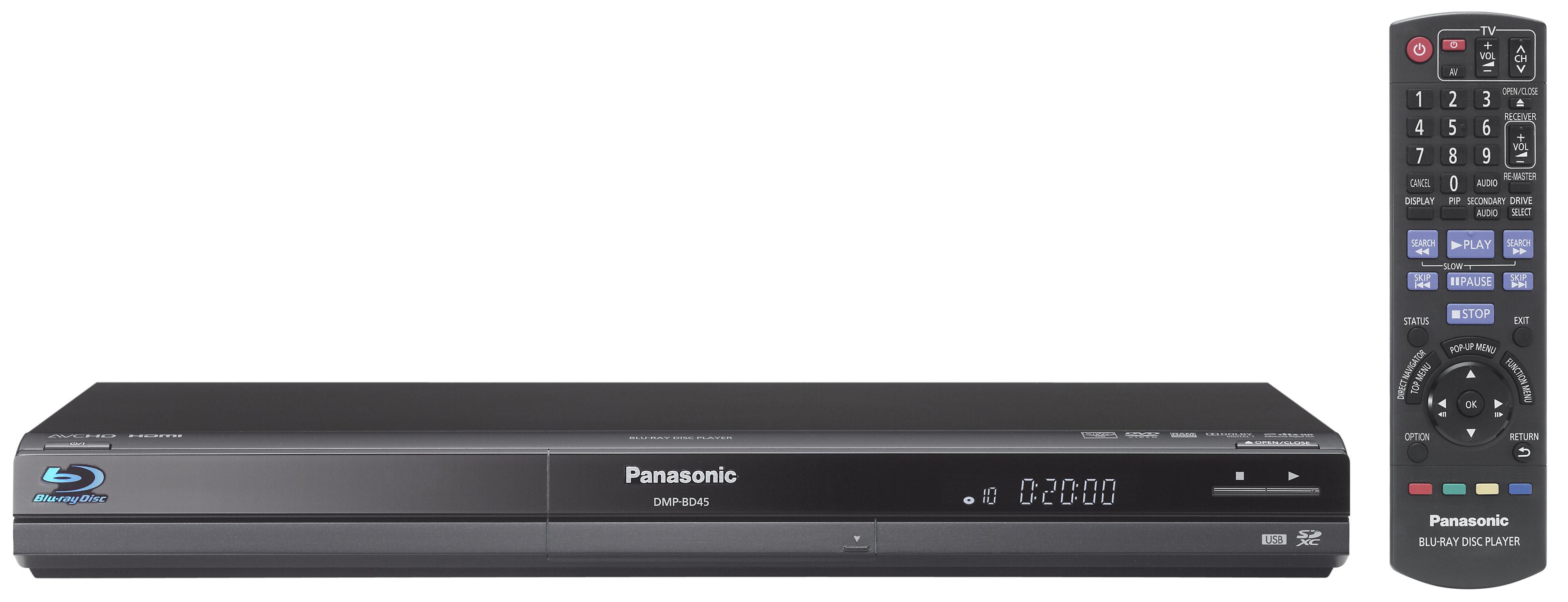 Panasonic BDP-BD45: Enkleste sort, men bra nok for mange? (Klikk for større bilde)