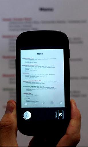 Scann inn tekst via mobilkameraet til Google Docs.