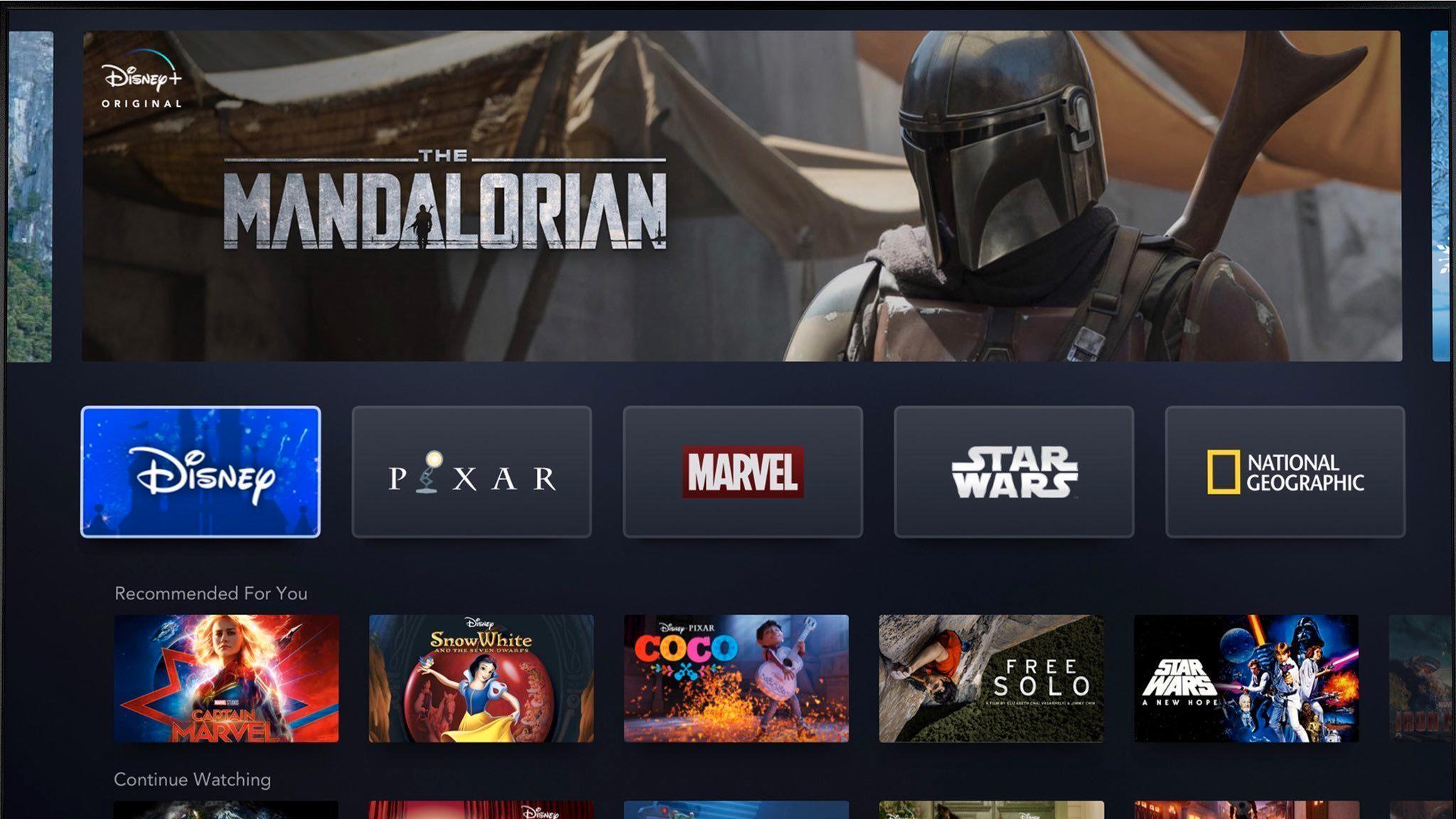 Disneyavslører prisen for strømmetjenesten sin: Nesten halvparten av et Netflix-abonnement