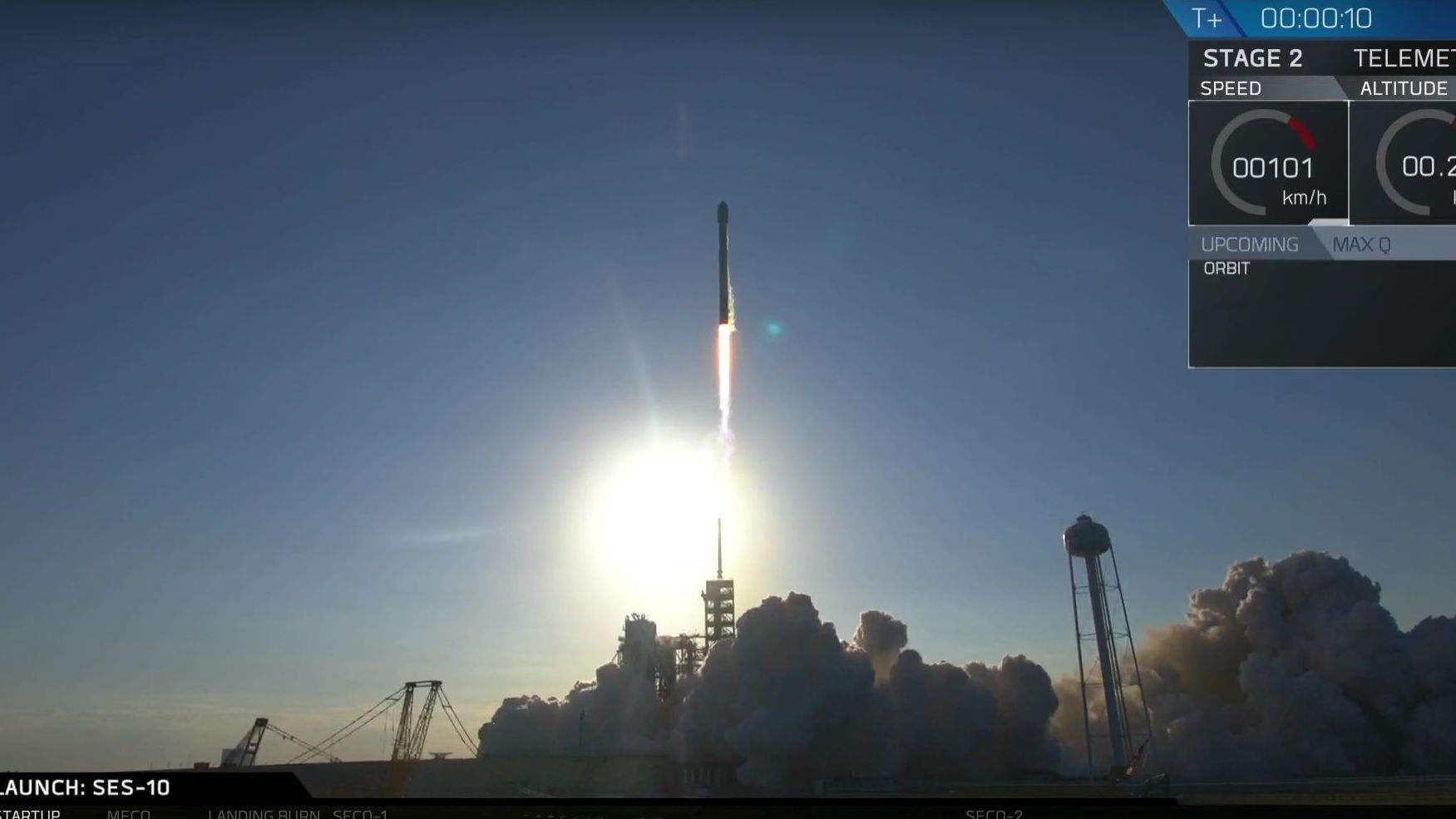 De klarte det! SpaceX landet en «resirkulert» rakett for første gang i historien