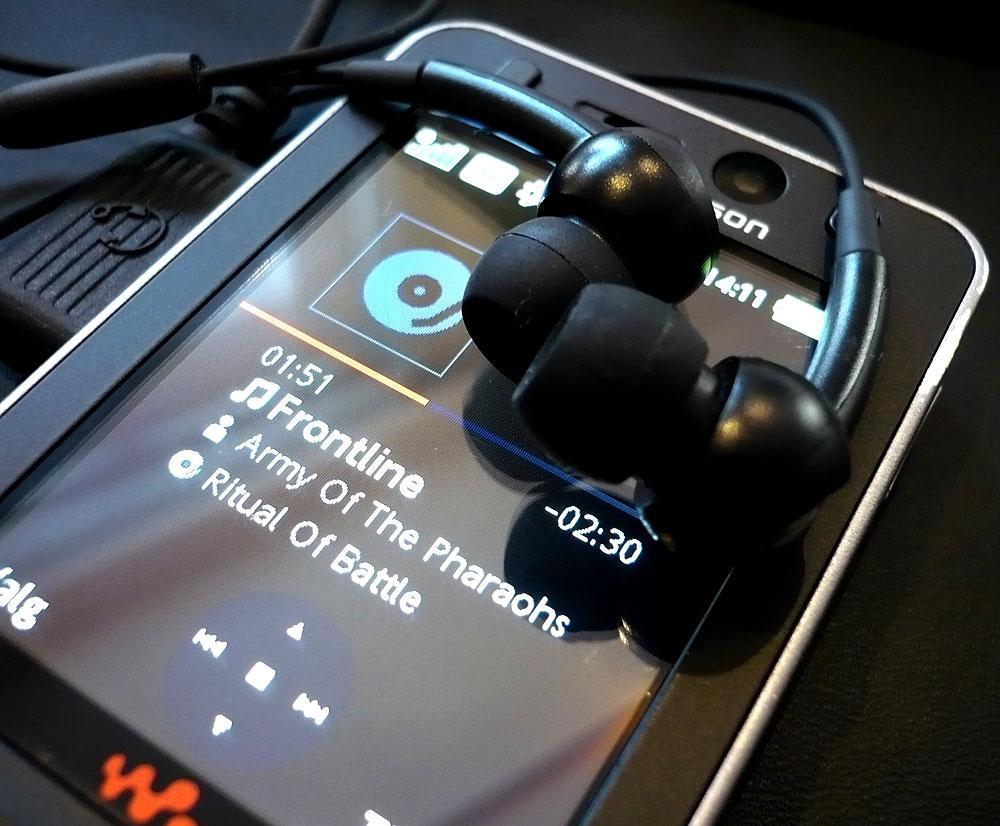 Sony Ericsson W910i er en av telefonene som har dårligst lyd.