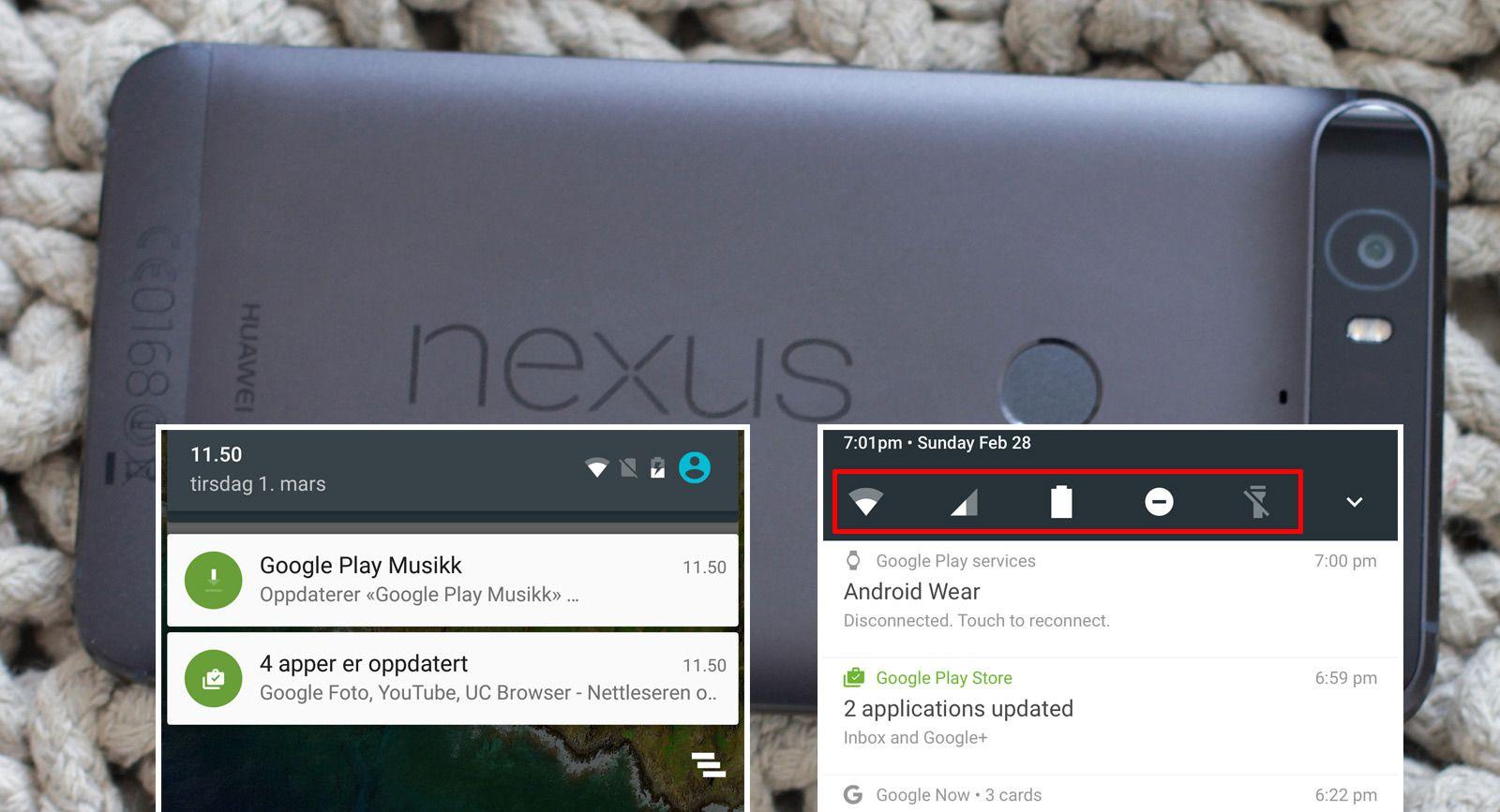 Nå får Android nytt varslingssystem