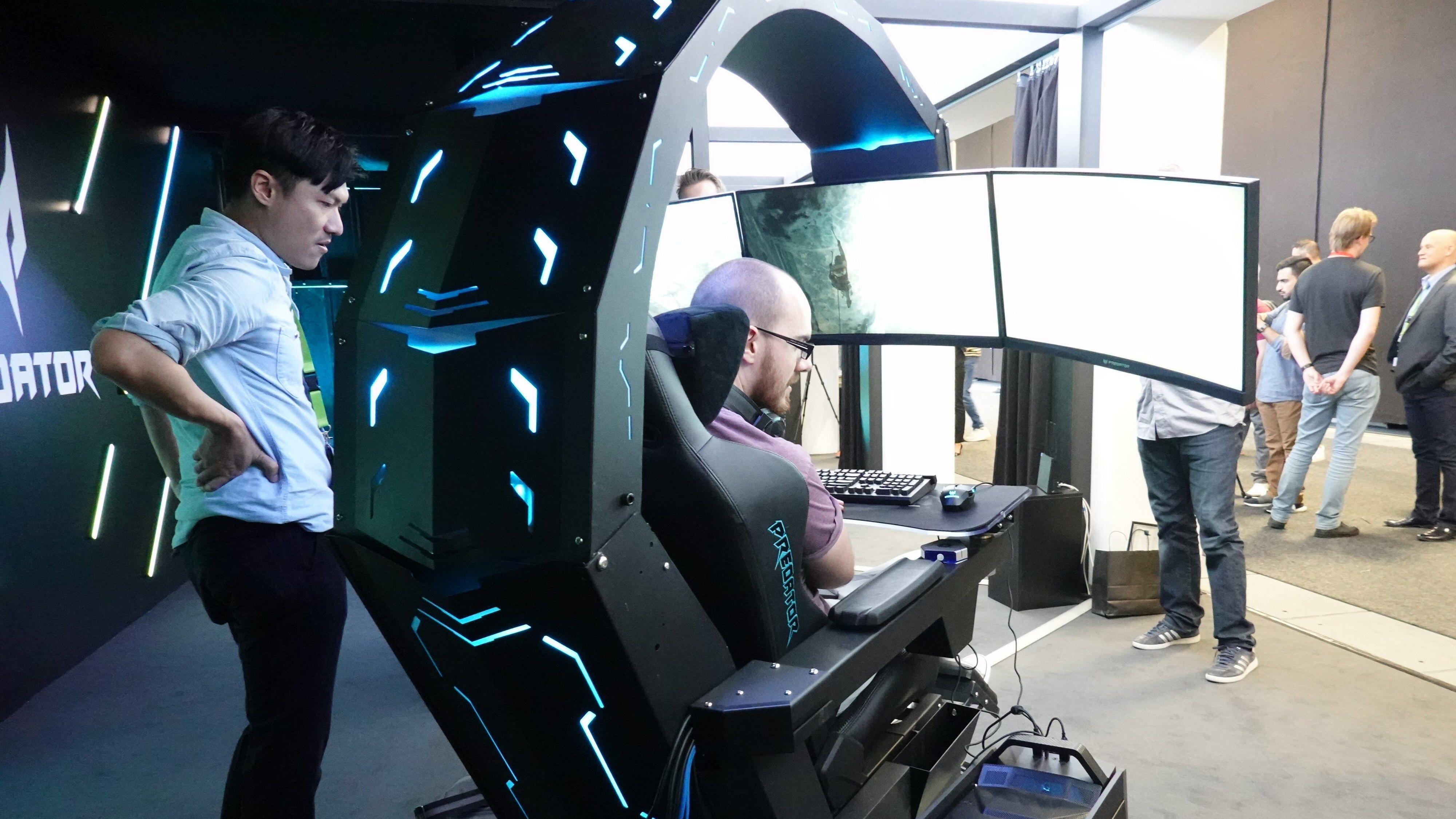 Acer vil at Predator Thronos skal dominere stua di