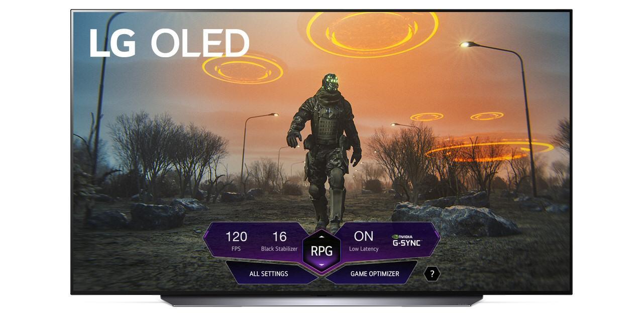 Game Dashboard er en liten meny som skal gjøre det enkelt å bekrefte at TV-en er stilt inn riktig.