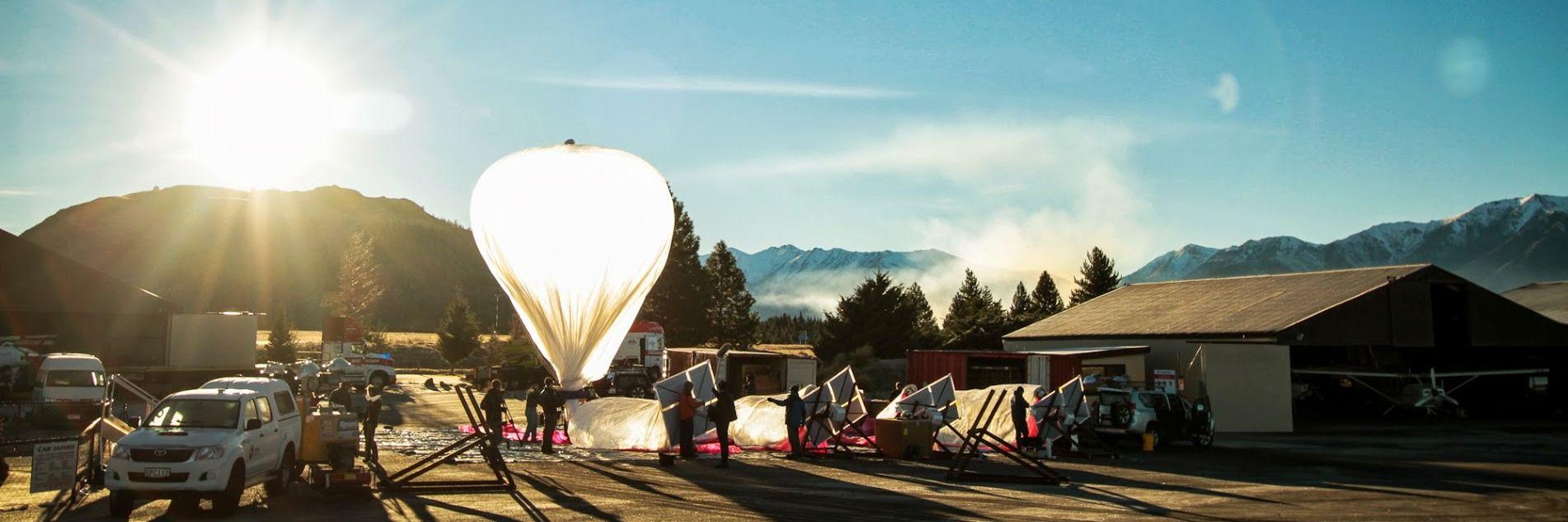 Disse ballongene skal gi Internett til hele verden
