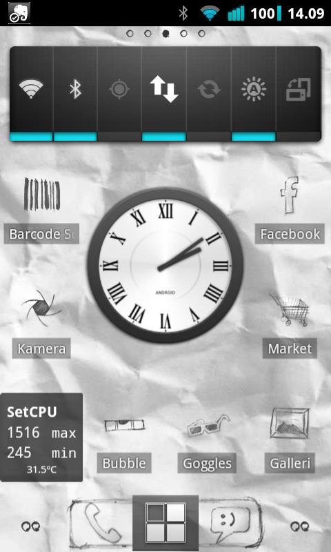 Det meste kan endres på i en Android-telefon.