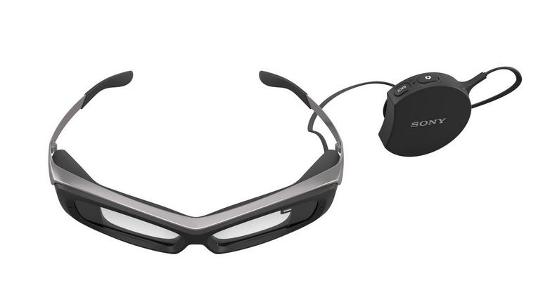 Sony SmartEyeglass. Foto: Sony