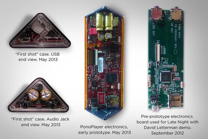Den spesielle fasongen gir plass til to kraftige transistorer..Foto: Pono/Kickstarter