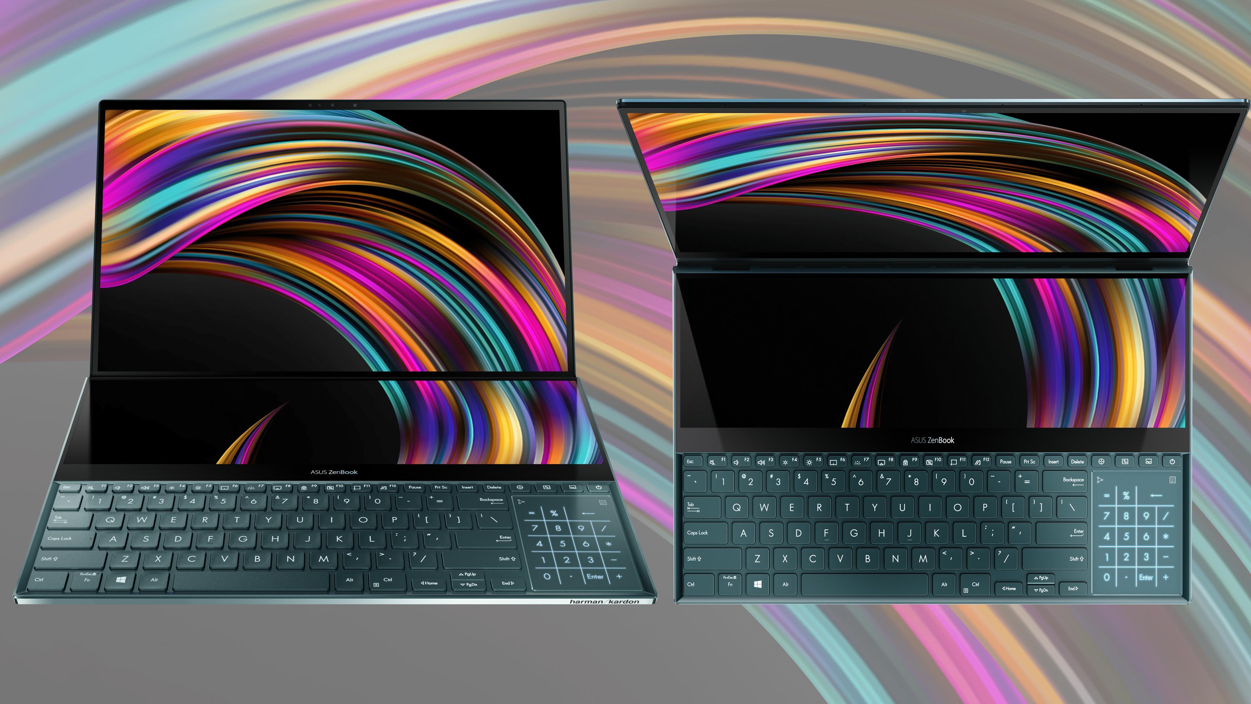 Asus lanserer laptop med to 4K-skjermer