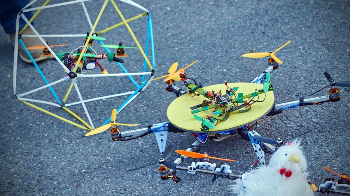 Unike selvbyggerdroner