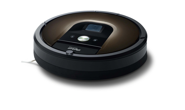 Ikke så veldig skummel robot: iRobot Roomba 980. Foto: iRobot