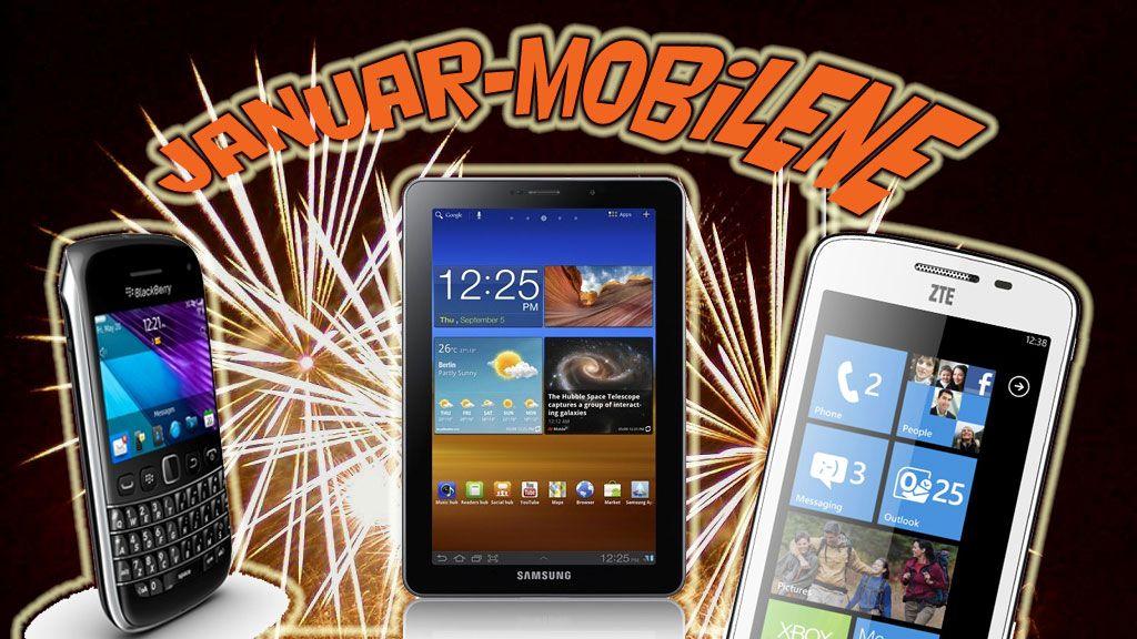 Nå kommer de første 2012-mobilene
