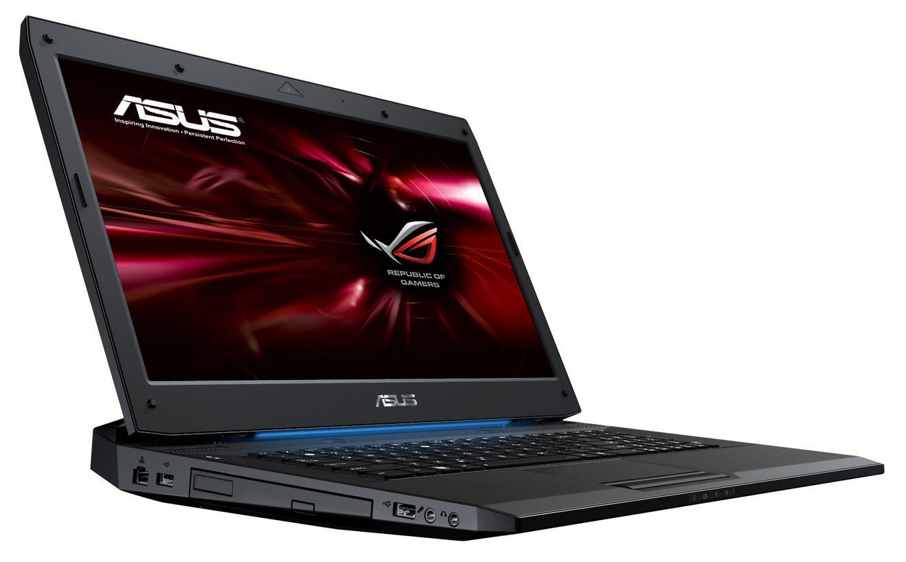 Asus G73SW er en populær gaminglaptop.