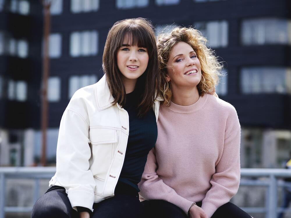 Anna Dahlbäck & Amanda Colldén.