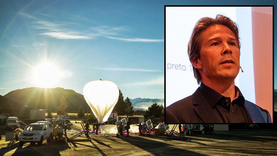 Telenor jobber med Googles ballong-Internett