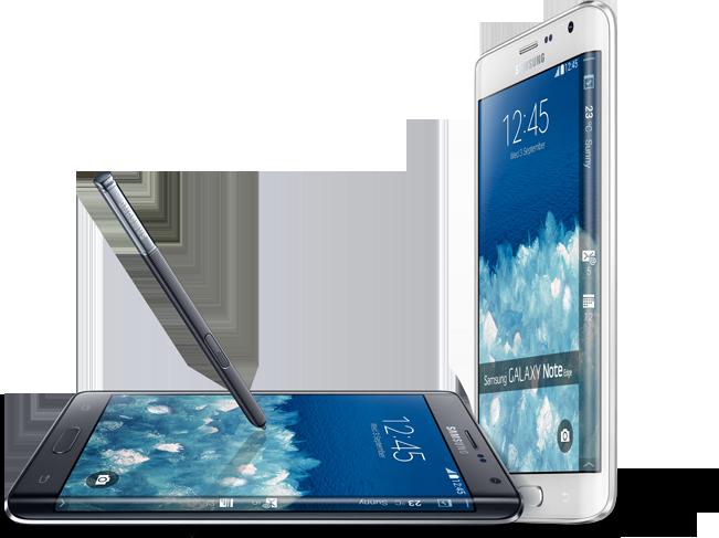 Samsung Galaxy Note Edge.Foto: Samsung