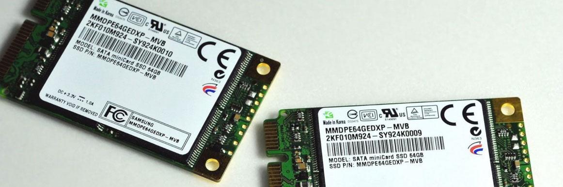 Samsung med mini-SSD