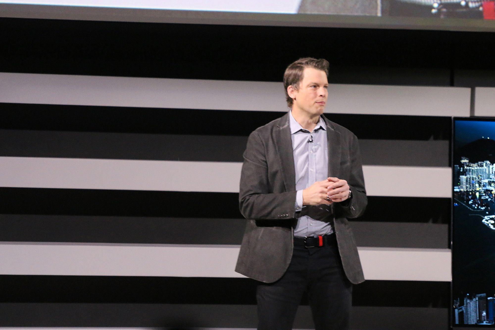 Greg Peters, sjef for strømming og partnerskap i Netflix.Foto: Finn Jarle Kvalheim, Tek.no